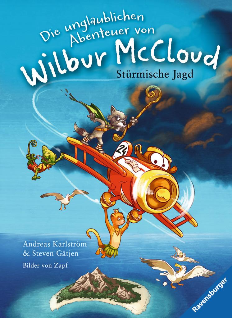 """Rezension zu """"Die unglaublichen Abenteuer von Wilbur McCloud: Stürmische Jagd """""""