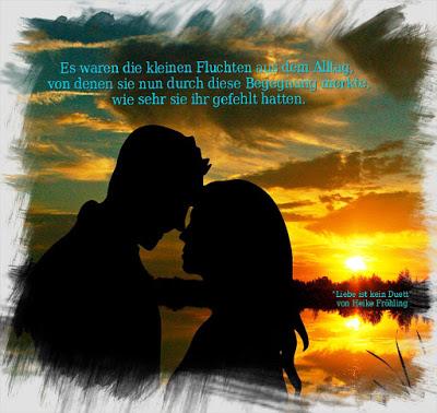 """Zitate zu """"Liebe ist kein Duett"""" von Heike Fröhling"""