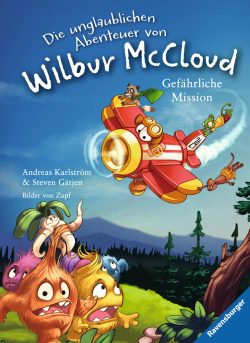 """Rezension zu """"Die unglaublichen Abenteuer von Wilbur McCloud: Gefährliche Mission"""""""