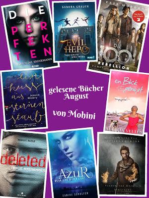 Monatsrückblick August von Mohini