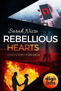 "Coverreveal zu ""Rebellious Hearts. Lovestory für dich"""