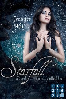 """Rezension zu """"Starfall – So nah wie die Unendlichkeit"""""""