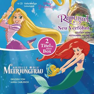 "Rezension zu ""Arielle – Die Meerjungfrau / Rapunzel – Neu verföhnt"""