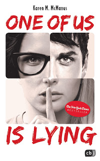 "Rezension zu ""One of us is lying"""