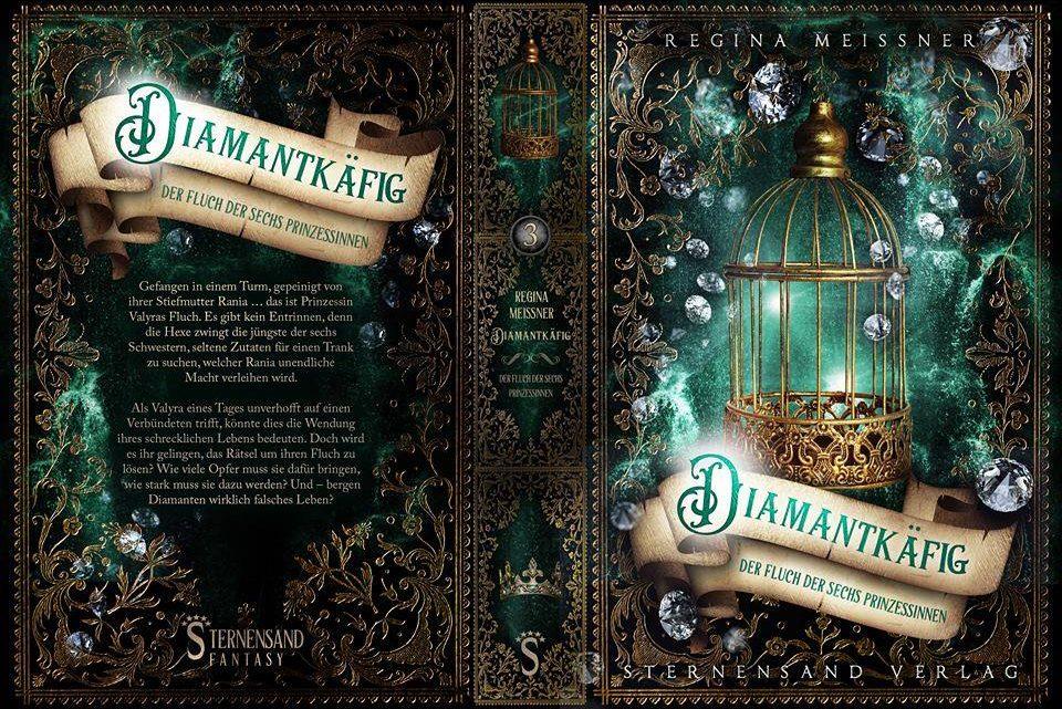 ~ Cover Reveal ~ Der Fluch der 6 Prinzessinnen – Diamantkäfig
